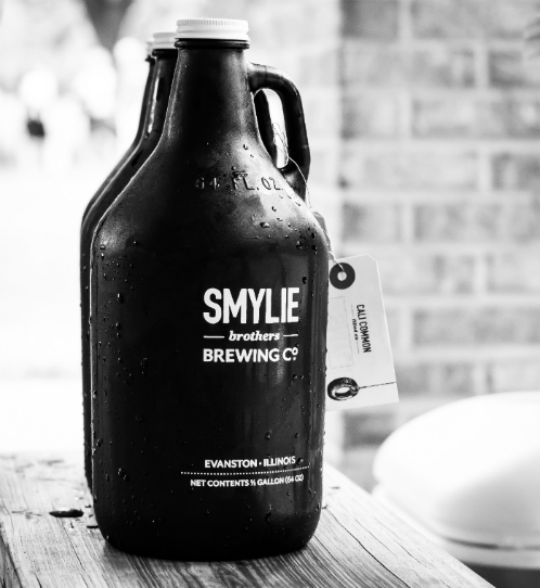 Growlers at Smylie Brothers Brewing Company